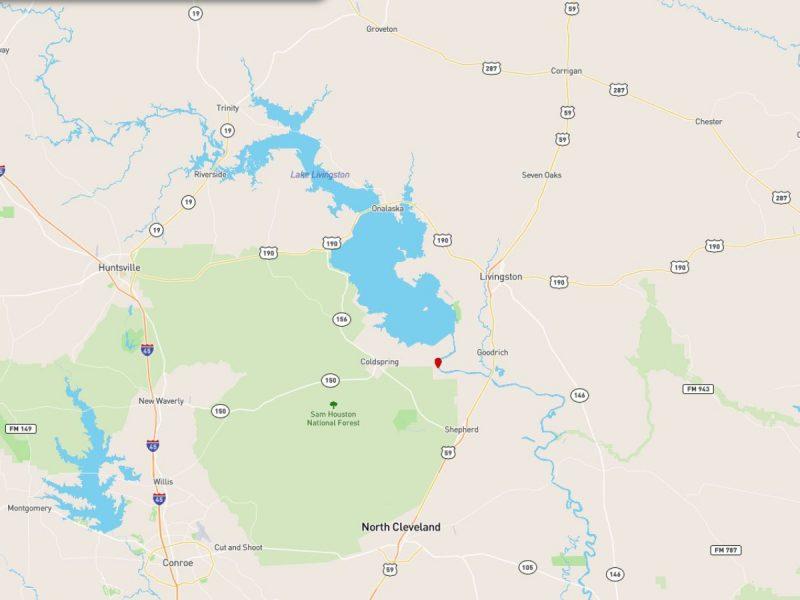 1.377 Acres in Coldspring TX i