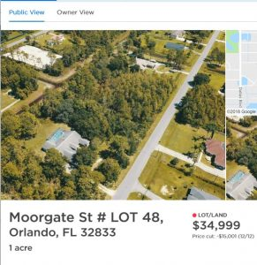 SOLD!! 1 14 Acres in Orange County FL- Minutes from Orlando! - Three
