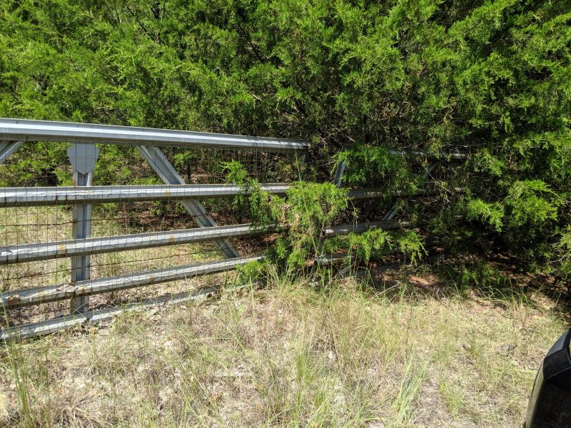 property double gate
