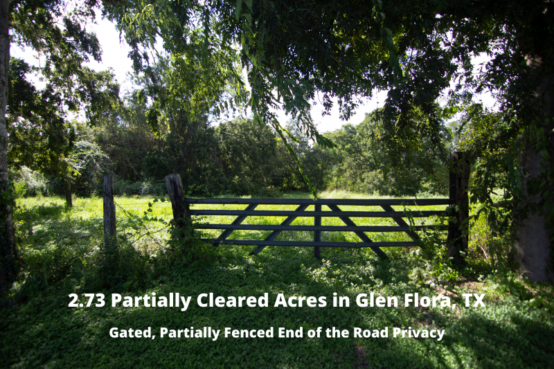 Picture 1- Main picture 2.73 Partially Cleared Acres in Glen Flora, TX